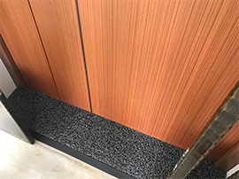 1. Door Gap Mat